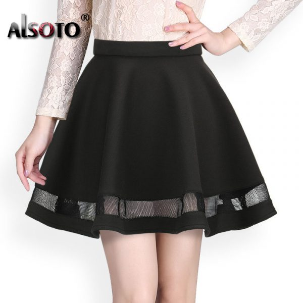 Fashion-Grid-Design-women-skirt-elastic-faldas-ladies-midi-skirt-Sexy-Girls-mini-Pleated-skirts-saias-1