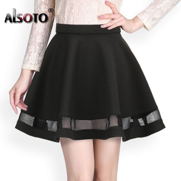 Fashion-Grid-Design-women-skirt-elastic-faldas-ladies-midi-skirt-Sexy-Girls-mini-Pleated-skirts-saias-1