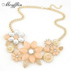 Fashion-Statement-Necklaces-Pendants-for-Women-Crystal-Flower-Necklace-Gold-Choker-Collier-Femme-2016-Colar-Jewrelry-1