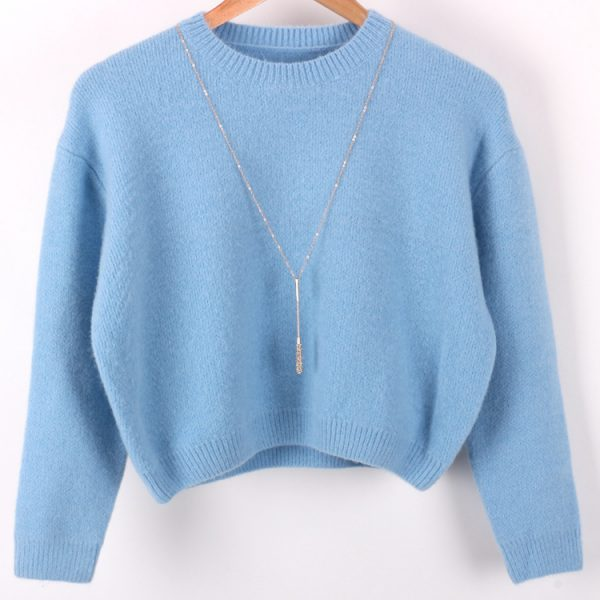 Free-shipping-2015-Women-s-autumn-and-winter-long-sleeved-round-neck-short-paragraph-wool-blend-1