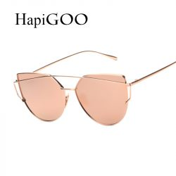 HapiGOO-2016-New-Rose-Gold-Cat-Eye-Sunglasses-Women-Brand-Designer-Twin-Beams-Mirror-Sun-Glasses-1
