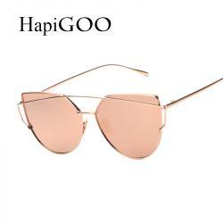 HapiGOO-2016-New-Rose-Gold-Cat-Eye-Sunglasses-Women-Brand-Designer-Twin-Beams-Mirror-Sun-Glasses-1