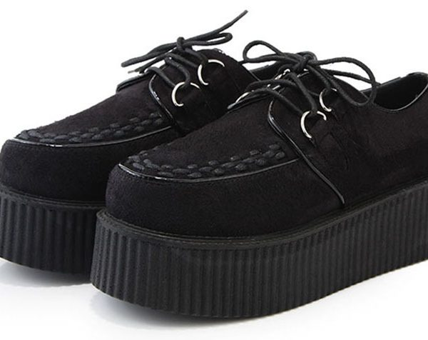 Harajuku-Style-Shoes-Women-Suede-Leather-35-39-Size-Black-And-Wine-Red-Height-Increasing-Platform-1