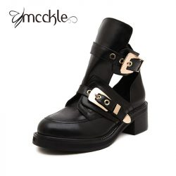 High-quality-2016-Brand-Luxury-Summer-style-Women-Ankle-Boots-heels-buckle-hollow-leather-woman-shoes-1