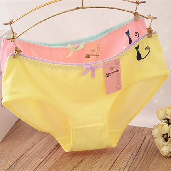 Hot-Candy-Color-Sexy-Female-Underwear-Women-s-Cotton-Panties-Cute-Cat-Bow-Lady-Breathable-Underpants-1