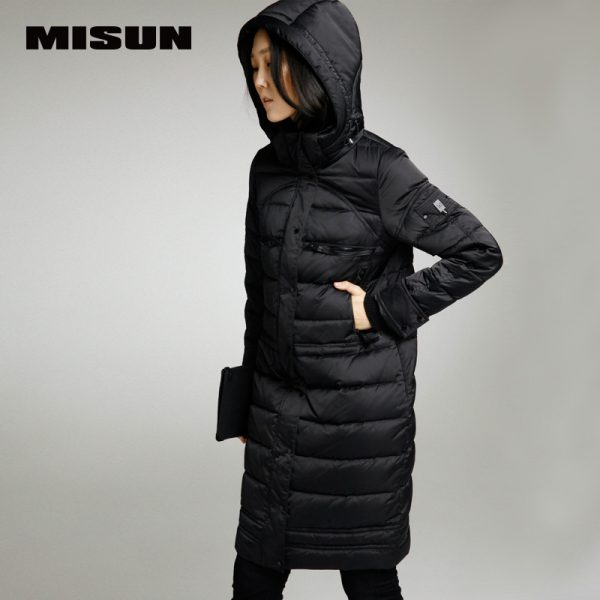 MISUN-2016-winter-coat-women-removable-cap-slim-zipper-medium-long-brief-long-sleeve-pocket-jacket-1