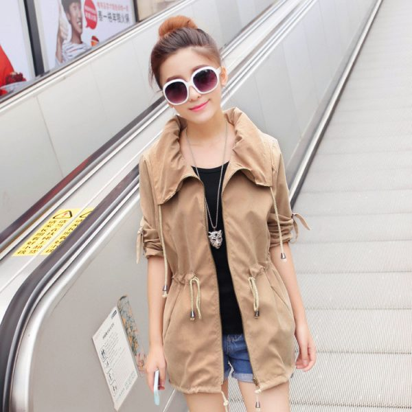 New-2016-Spring-Autumn-Women-s-Coat-Loose-Slim-Outwear-Korean-Lady-Fashion-Jacket-Women-Casual-1