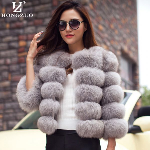New-Arrival-2016-Fashion-Women-Fur-Coat-High-Quality-Faux-Fox-Patchwork-Fur-Short-Coat-Female-1