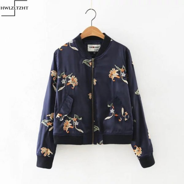 New-Autumn-Women-s-Jacket-Flower-Embroidery-Bomber-Jacket-Women-Long-Sleeve-Basic-Jacket-Women-Coat-1