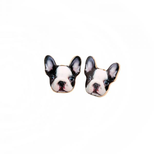 New-Fashion-Vintage-Animal-French-Bulldog-Earrings-for-Women-Cute-Gold-Puppy-Dog-Stud-Earrings-Retro-1