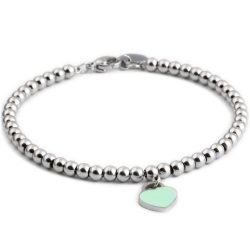 New-Jewelry-316L-stainless-steel-beads-Heart-charm-bracelets-for-women-1