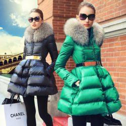 Prase-women-s-fashion-2015-swandown-thin-fur-collar-down-coat-medium-long-female-outerwear-down-1