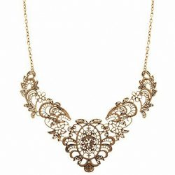 Retro-Vintage-Antique-Luxury-Lady-Lace-Effect-Filaments-Pendant-Short-Style-Necklace-For-Gift-Party-1