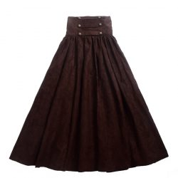 Vintage-Steampunk-Skirt-Victorian-Gothic-High-Waist-Long-Walking-Slim-Skirt-Black-Blue-Brown-Purple-Women-1