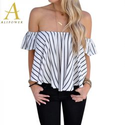 Women-Blouse-Blue-White-Sexy-Off-Shoulder-Top-Women-s-Shirt-Loose-Slash-Neck-Shirts-Blouses-1