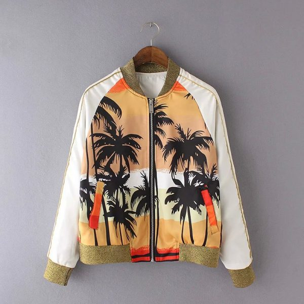 Women-s-autumn-coat-2016-new-fashion-print-jacket-female-short-jacket-1