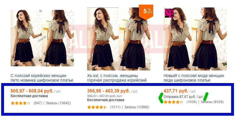 цена одежды на алиэкспресс