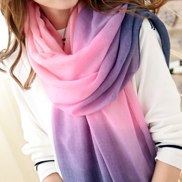 2016-New-Fashion-Winter-Scarves-Women-Brand-cachecol-Gradient-scarf-Foulard-Femme-Designer-Cotton-shawls-Scarf-1