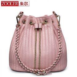 Bucket-shoulder-bag-ZOOLER-genuine-leather-bags-women-messenger-bag-lady-2016-Classic-bolsa-Colors-2113-1