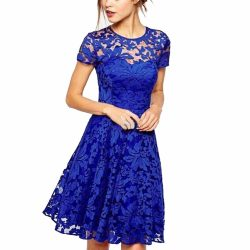 Fashion-Women-Floral-Lace-Dress-Short-Sleeve-Summer-Party-Mini-Dresses-Lady-vestidos-1