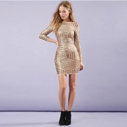 New-European-Gold-Women-Dresses-Sexy-Backless-Bodycon-Women-Dresses-Luxury-Sequined-Dress-for-wholesale-and-1