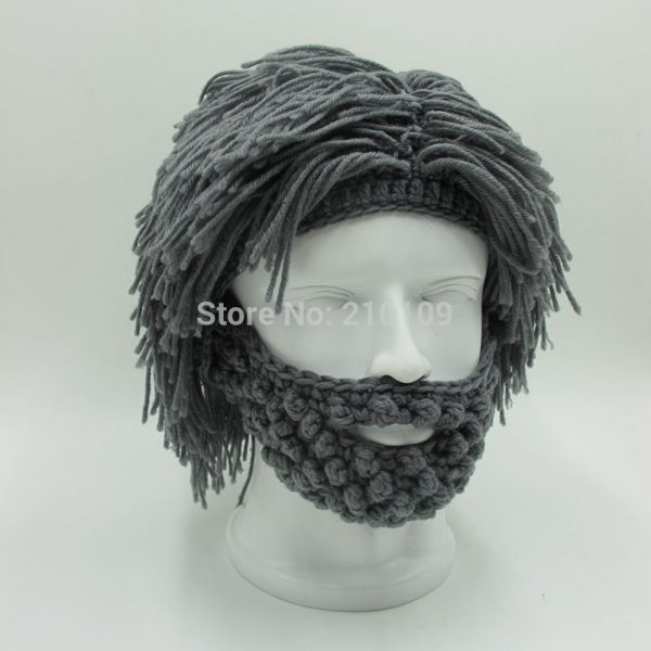 Wig-Beard-Hats-Hobo-Mad-Scientist-Rasta-Caveman-Handmade-Knit-Warm-Winter-Caps-Men-Women-Halloween-1