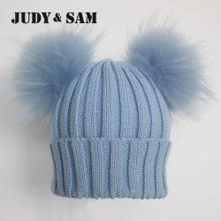 Winter-Beanie-Hat-with-Big-Fluffy-Raccoon-Fur-Pom-Poms-1-1