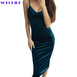 Women-Sexy-Velvet-Dress-High-Quality-Slim-Dress-V-neck-Dresses-Bodycon-Brand-Designer-Clothes-Brief-1
