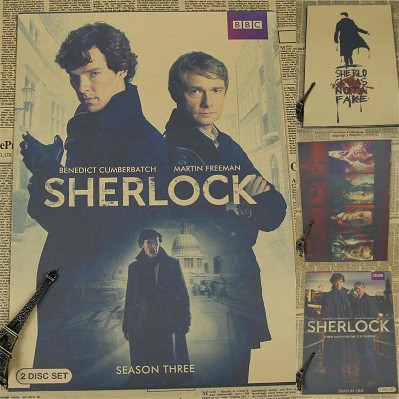 Шерлок постер с алиэкспресс