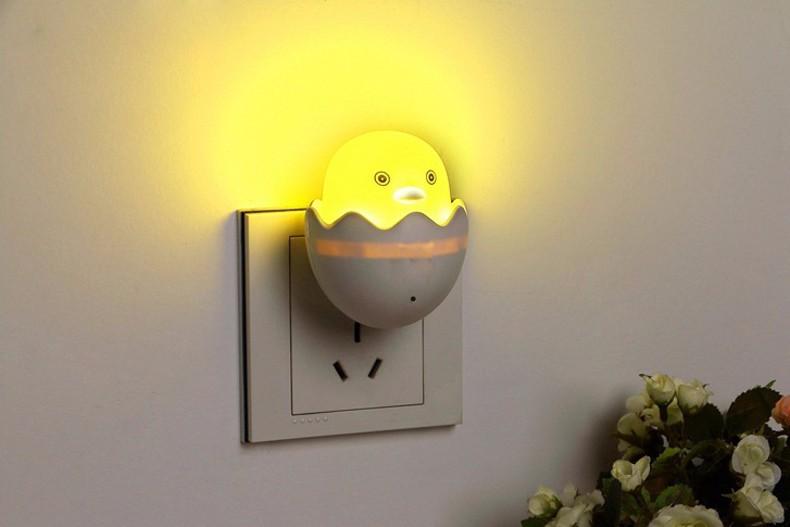 LED ночник в домашнем интерьере с алиэкспресс