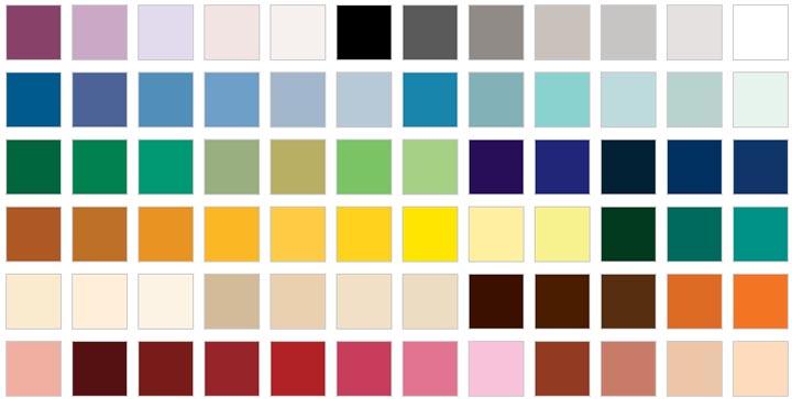 цветовая политра помещения