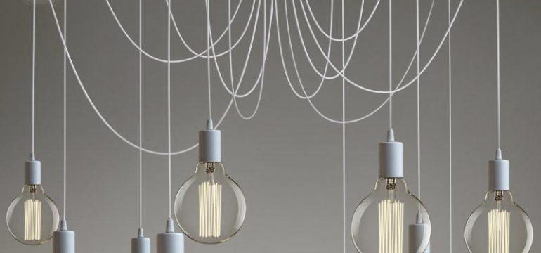 Подвесные светильники с AliExpress в домашнем интеръере