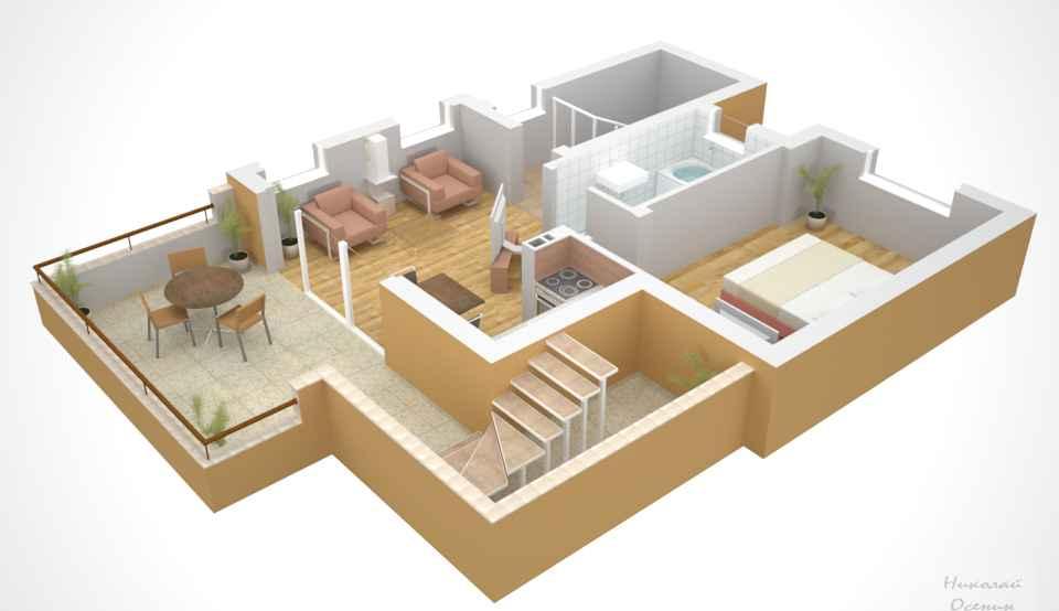 размеры помещения для выбора потолочного светильника